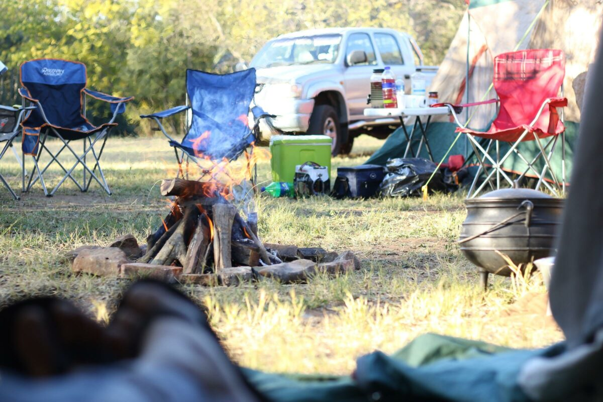 Camping Nasza Polana Ojców Pole namiotowe